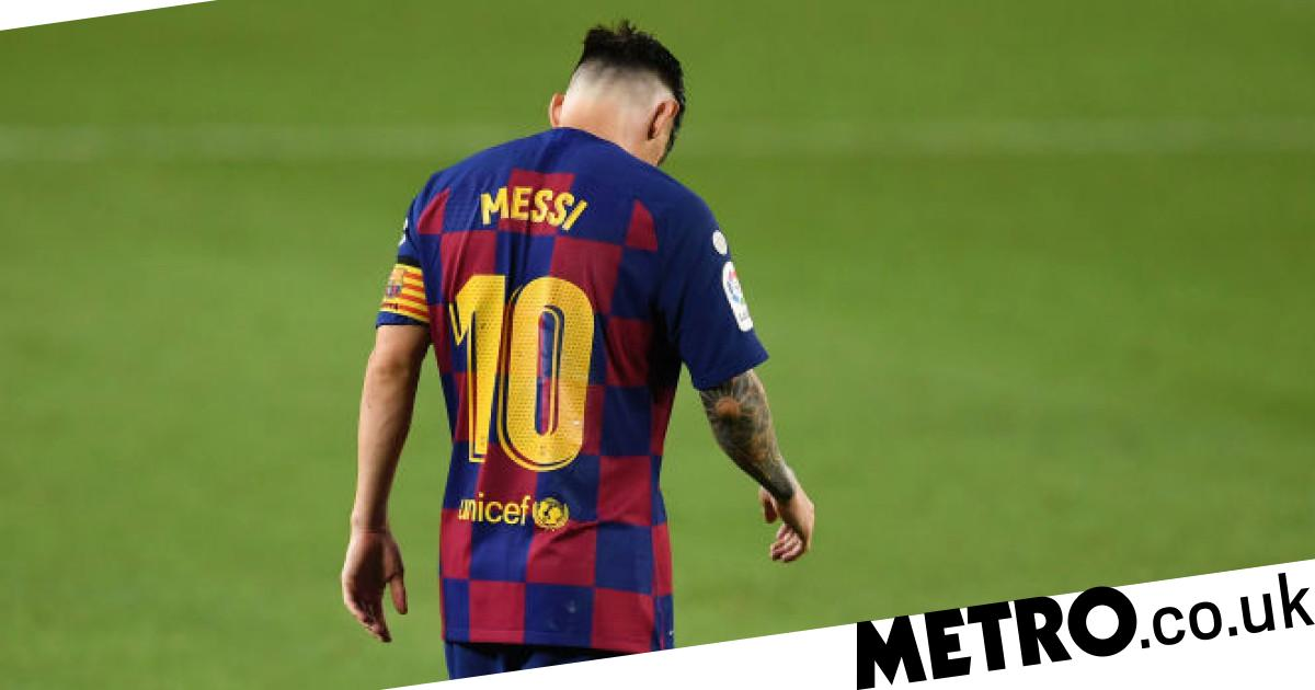 Lionel Messi 'fed up' at Barcelona after telling club he wants transfer - metro