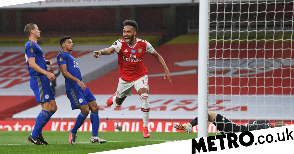 Pierre-Emerick Aubameyang matches Thierry Henry Arsenal record with Leicester goal - metro