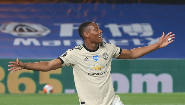 Martial has been on fire for Manchester United