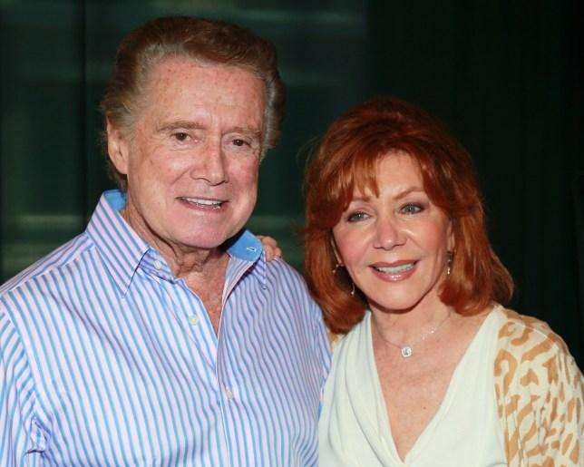 Regis Philbin and wife Joy