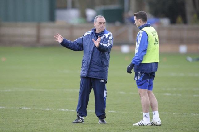 Grant managed Lampard at Chelsea