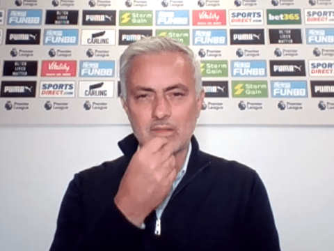 Spurs boss Jose Mourinho points out Frank Lampard's use of Callum Hudson-Odoi in defence of his own team selections
