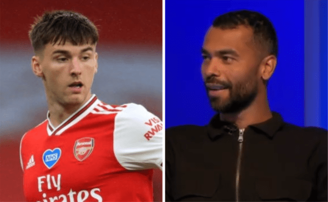 Ashley Cole delivers verdict on Kieran Tierney after Man of the Match display for Arsenal against Leicester City