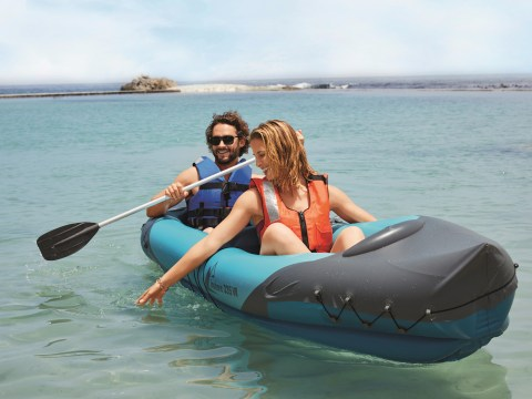 Lidl launches £39.99 inflatable kayak that can fit two people