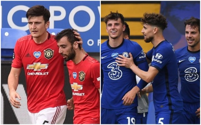 Manchester United and Chelsea secured the final Champions League places