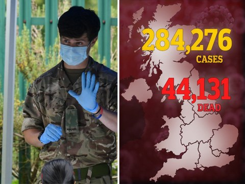 Coronavirus death toll passes 44,000 after another 137 people die