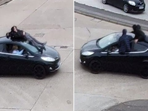 Boy racer banned from driving after letting mates surf on car roof