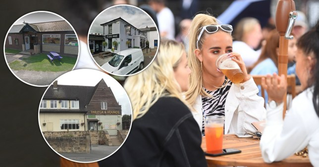 Three pubs have already been forced to close again just days after reopening due to customers testing positive (Pictures: Getty/Google Maps)
