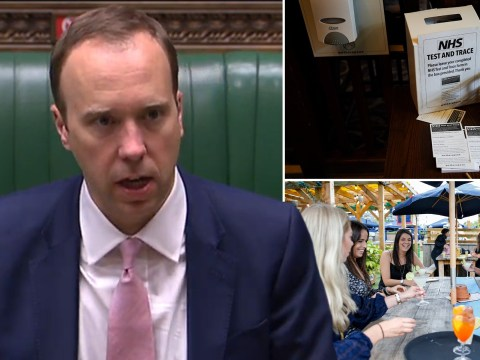 Matt Hancock says NHS test and trace 'working as intended' after three pubs shut