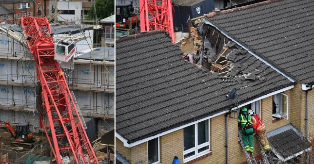 woman, 85, killed crane collapse bow east london