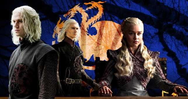 Game Of Thrones - Targaryen family including Daenerys