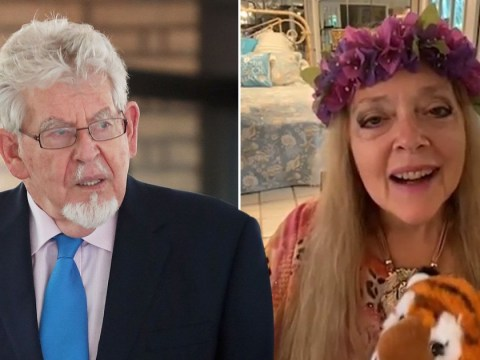 Tiger King's Carole Baskin tricked into sending video message to Rolf Harris