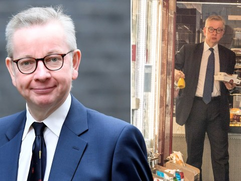 Michael Gove seen without mask in Pret despite calling it 'basic good manners'