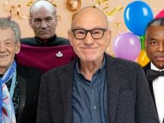 Star Trek stars wish Sir Patrick Stewart a Happy 80th Birthday in the best way