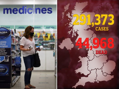 Another 138 people die with coronavirus bringing UK death toll to 44,968