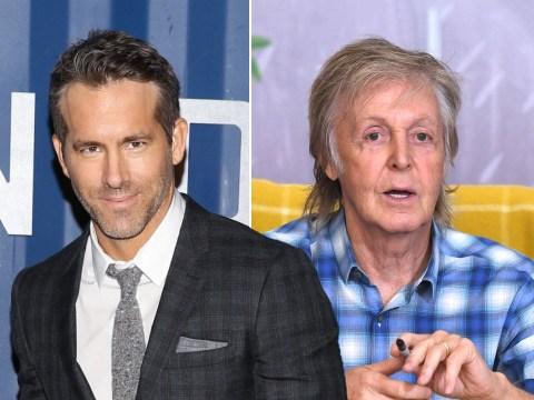 Ryan Reynolds jokingly sends Sir Paul McCartney bottle of gin from Buckingham Palace in fake order