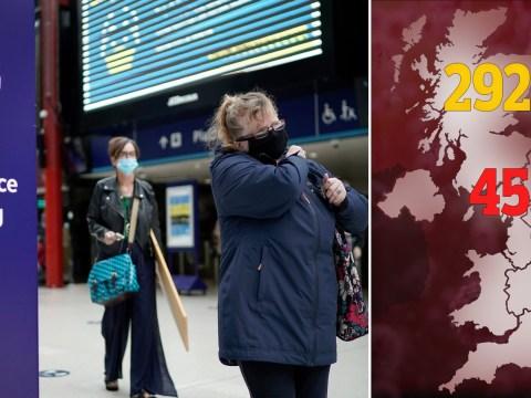Another 66 die of coronavirus in UK bringing total to 45,119