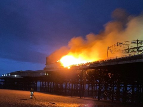 Blackpool Pier badly damaged after ride catches on fire overnight