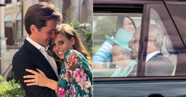 Beatrice and Edoardo Mapelli Mozzi married at Windsor Castle on Friday, July 17