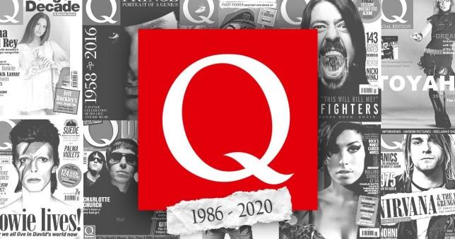 Q magazine has folded