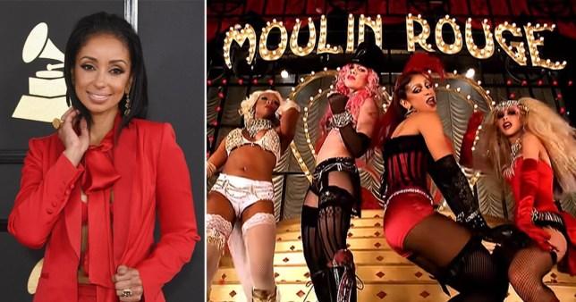 Mya, Pink, Christina Aguilera, Lil Kim in Lady Marmalade