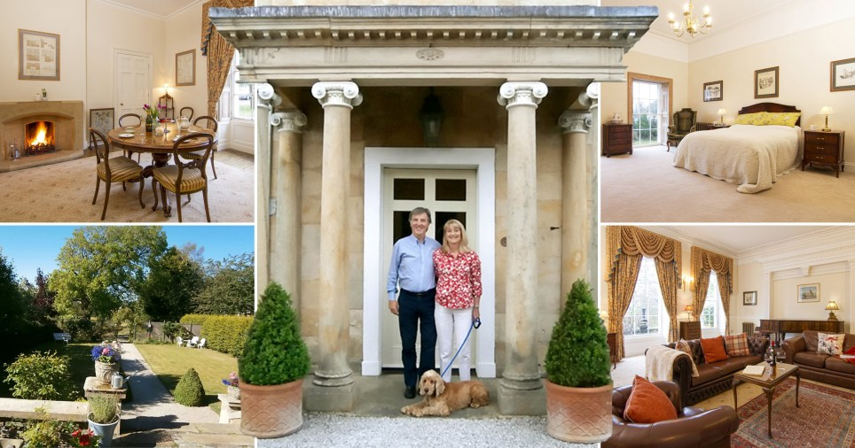 Guy and Julie show off their home