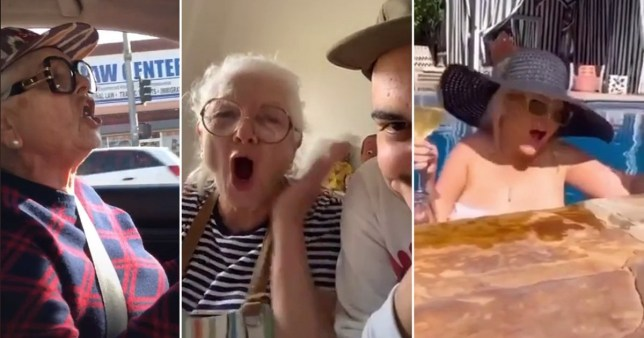 Christina Aguilera mimics TikTok user singing Lady Marmalade and her reaction is everything