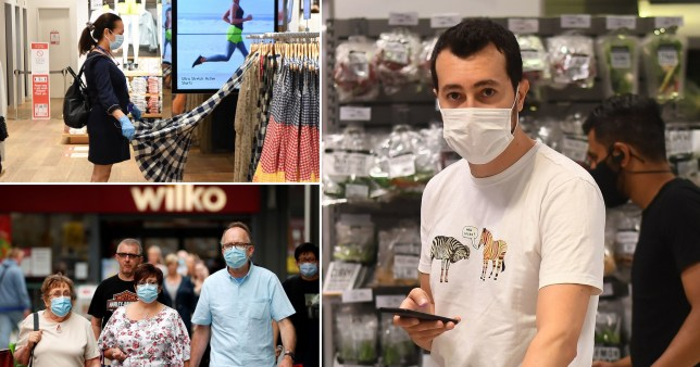 From today, people will have to wear masks or other coverings in shops and takeaways