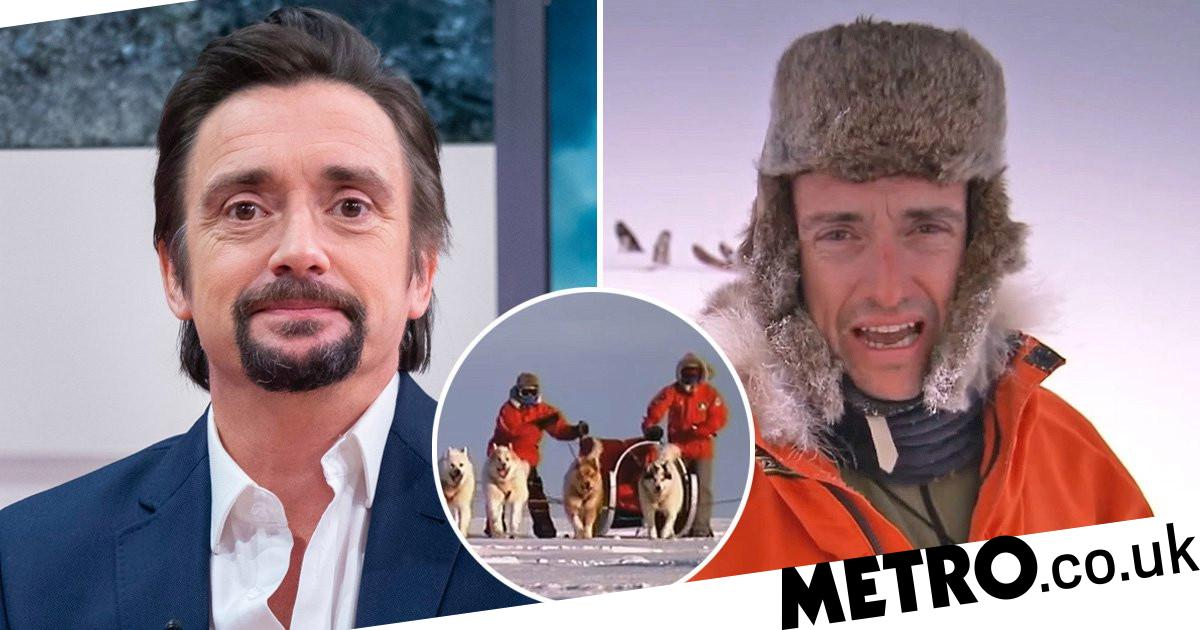 Richard Hammond was dragged through dog poo face-first during Top Gear