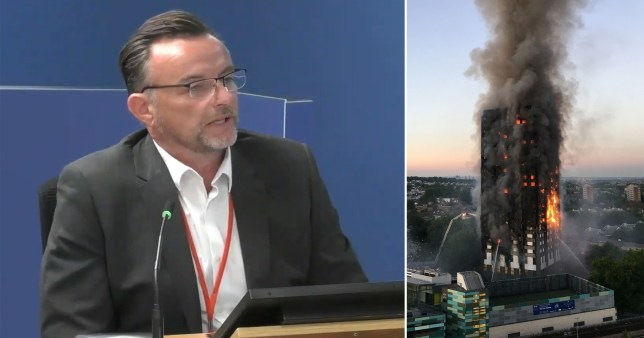 Stephen Blake, the refurbishment director from Rydon, admitted shortcomings to the Grenfell Tower inquiry today