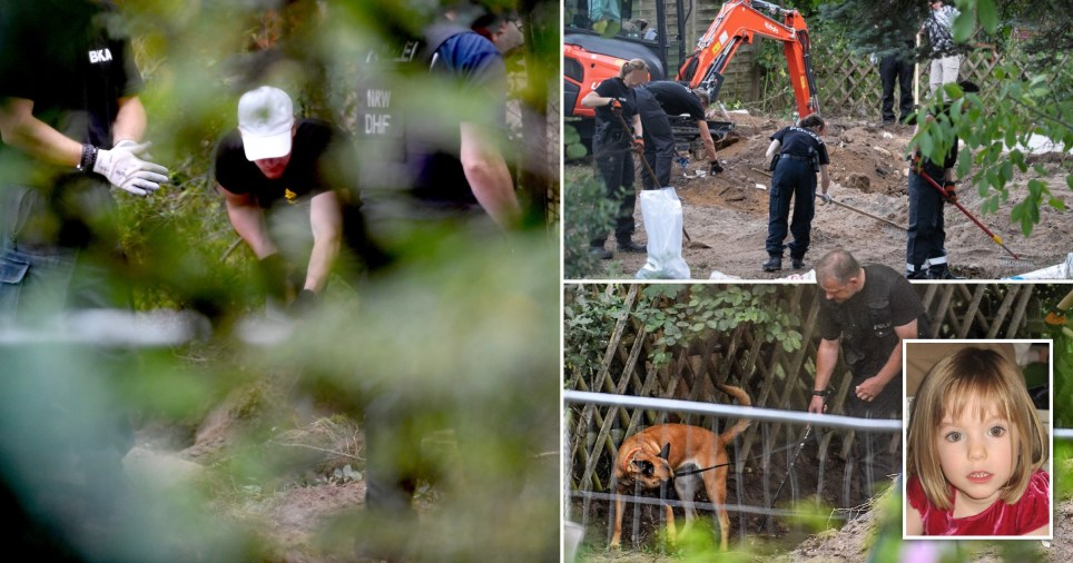 Hidden cellar found in hunt for Madeleine McCann