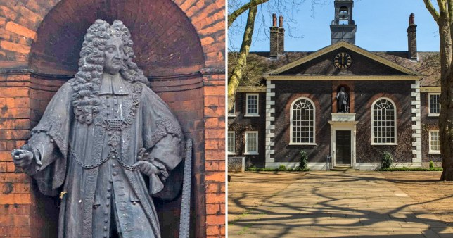 The Sir Robert Geffrye Statue at The Museum of the Home (Pictures: PA/Getty)