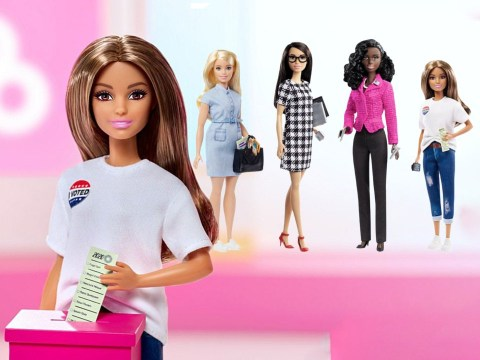 Mattel launches election series including a Black Barbie running for president