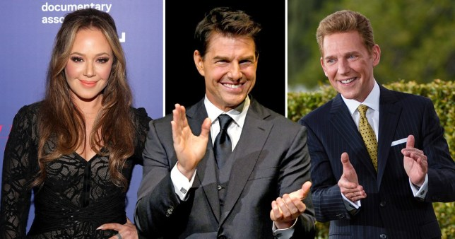 Leah Remini, Tom Cruise, David Miscavige