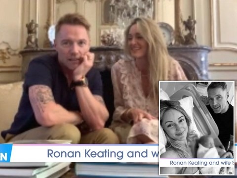 Ronan Keating winces during vasectomy chat alongside wife Storm