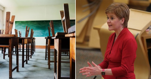 The reopening date for Scottish schools has been announced after five months