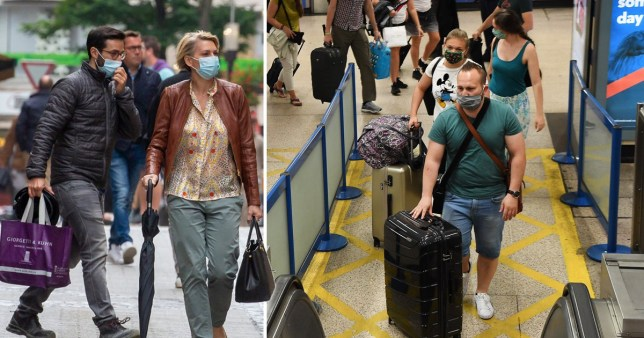 Travellers arriving into England and Scotland from Luxembourg will have to isolate for two weeks after a surge in coronavirus cases.