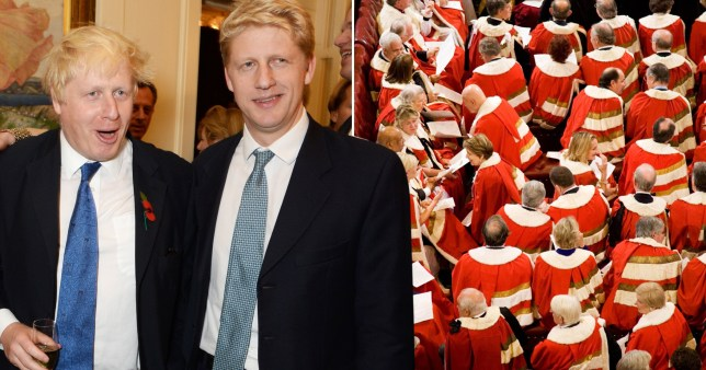Boris Johnson has given his brother Jo a seat in the House of Lords