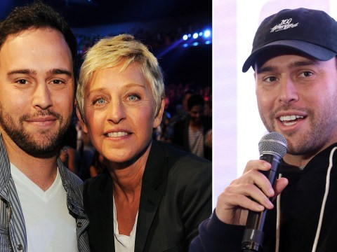 Scooter Braun thinks people 'love to see people fall' as he defends Ellen DeGeneres
