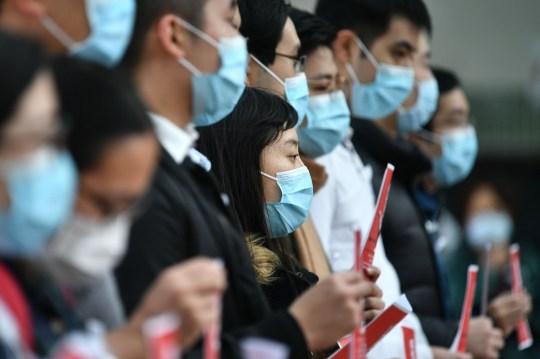 Travailleurs médicaux de Hong Kong