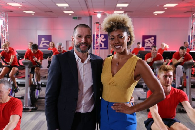 Programme Name: Horizon: The Restaurant That Burns Off Calories - TX: 20/04/2020 - Episode: Horizon: The Restaurant That Burns Off Calories (No. n/a) - Picture Shows: Fred Sirieix, Dr Zoe Williams - (C) Voltage TV - Photographer: Voltage TV