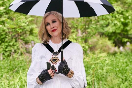 Schitt's creek Catherine O'Hara as Moira Rose