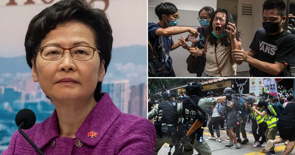 Controversial Hong Kong law has come into effect with penalties as severe as life imprisonment (Picture: Getty)