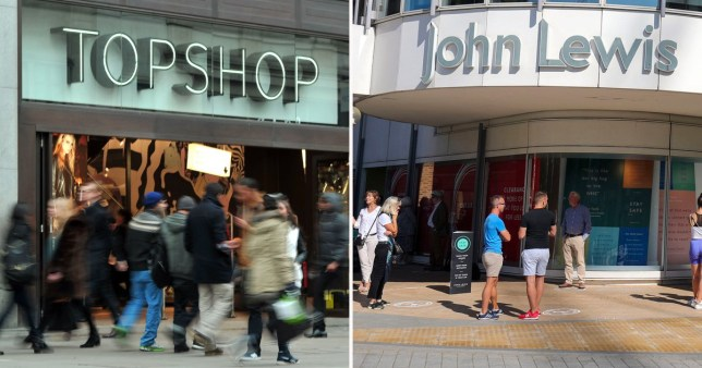 John Lewis, Topshop and Harrods to axe hundreds of jobs in high street bloodbath