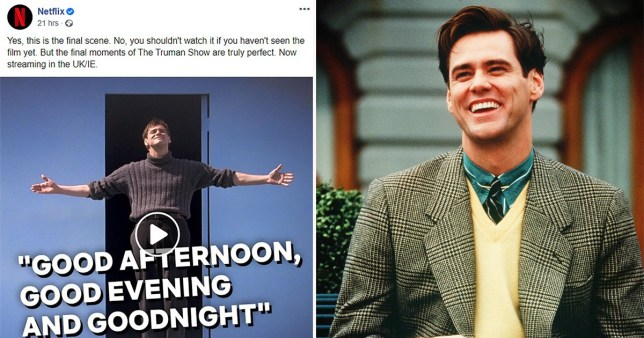 People are pissed as Netflix autoplays ending of The Truman Show on social media