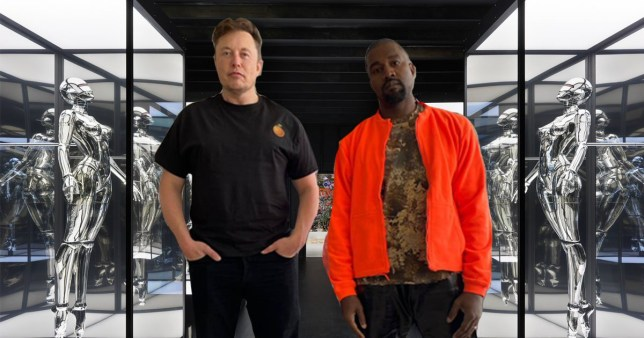 Elon Musk's terrifying robot collection