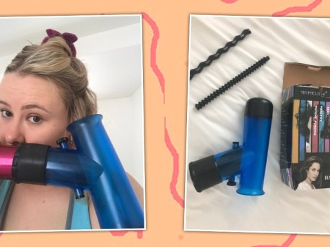Is the 'magic wind tornado air curler' worth the faff?