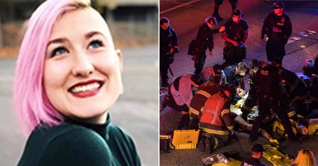 A woman hit by a car dies during the BLM protest