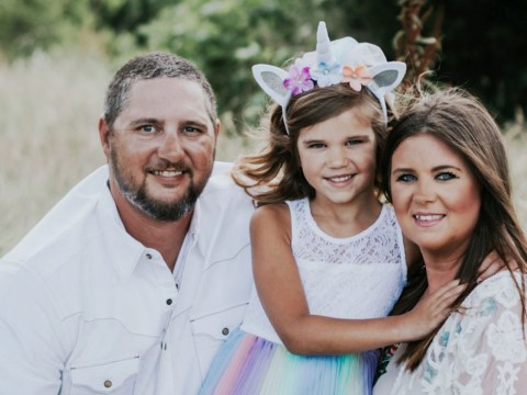 Mum throws second gender reveal party for transgender six-year-old daughter
