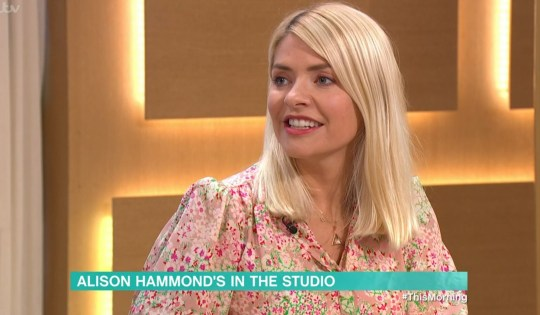 Mandatory Credit: Photo by ITV/REX/Shutterstock (10703022j) Holly Willoughby 'This Morning' TV show, London, UK - 06 Jul 2020